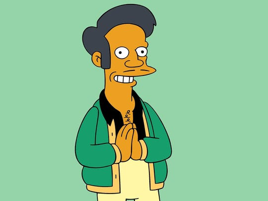Kwik-E-Mart proprietor Apu is a character on 'The Simpsons.'