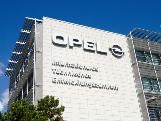 Opel's research and development center in Rüsselsheim,