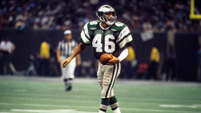 Herm Edwards was a nine-year starter at cornerback for the Philadelphia Eagles including in the 1981 Super Bowl.