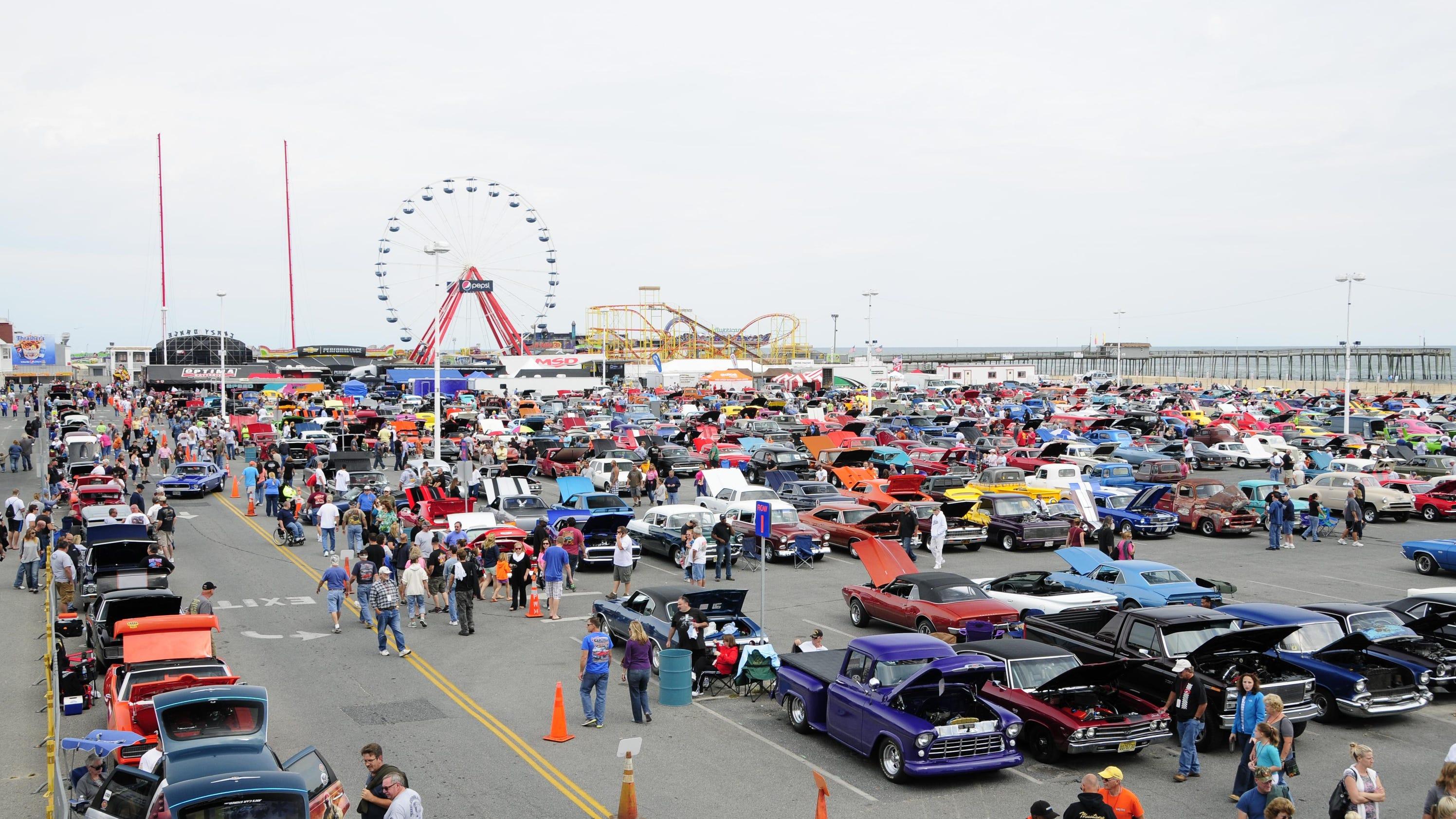 Cruizing Usa Car Show Ocean City