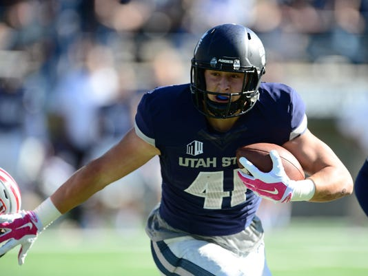 NCAA Football: UNLV at Utah State