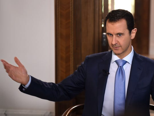 Iran backs Syrian President Bashar Assad. Saudi Arabia