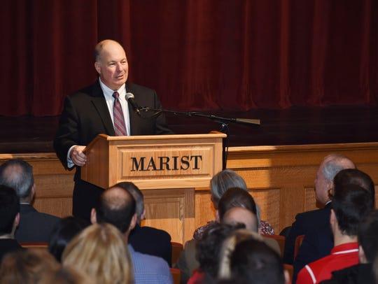 Marist College incoming president David Yellen addresses