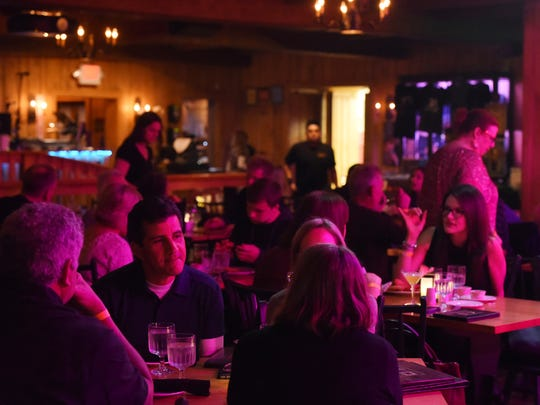 A view of the audience at Daryl's House in Pawling.