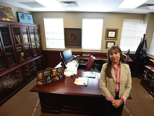 As a retiree, Rosalyn Blagg, vice chancellor of student