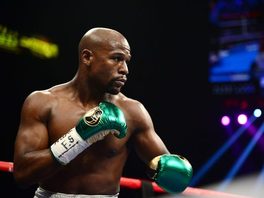 Boxing: Mayweather vs Berto