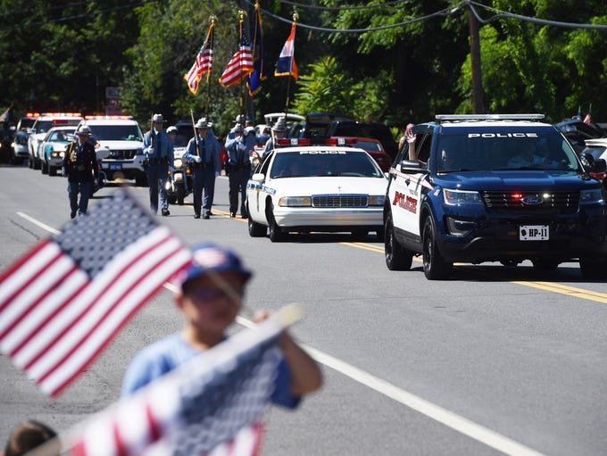 Scenes from the 2017 July 4th parade in Hyde Park.