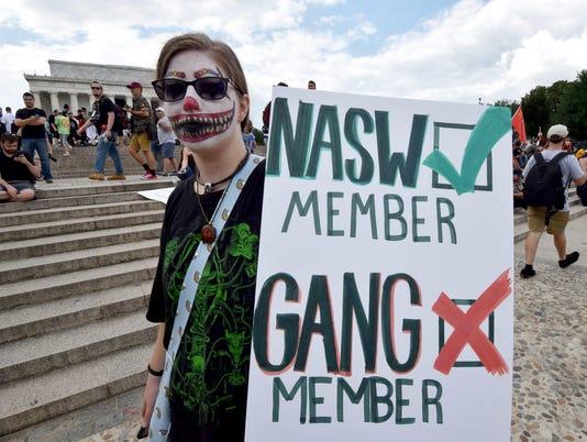 US-POLITICS-PROTEST-JUGGALO