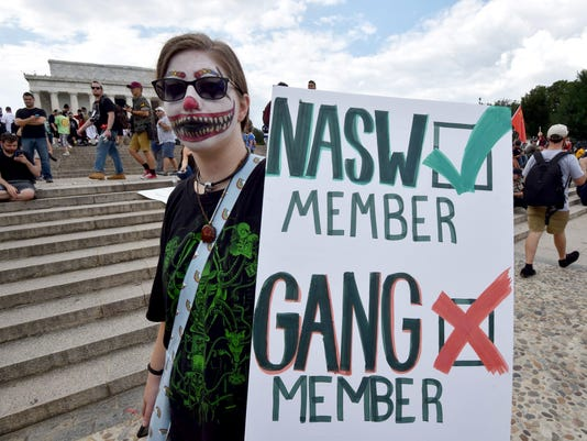 US-POLITICS-PROTEST-JUGGALO