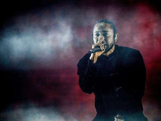"""1. Kendrick Lamar, """"DNA."""""""