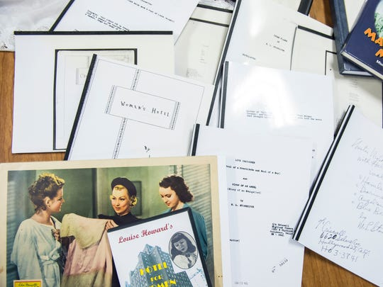 The Bittle brothers have collected dozens of Myrtle Louise Stonesifer-King's creative works, including several of her stageplays and screenplays.