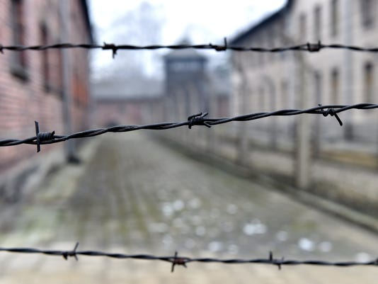 EPA POLAND KL AUSCHWITZ LIBERATION ANNIVERSARY ACE WAR MONUMENTS & HERITAGE SITES POL