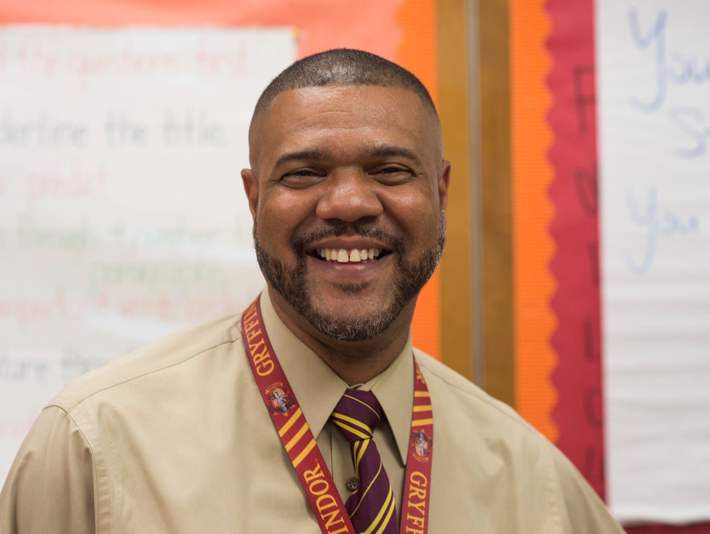 Jonathan Hilliard, a fourth-grade teacher at Apollo