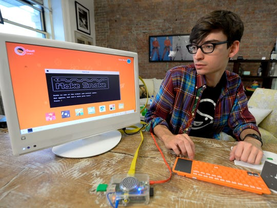Alex Klein, the founder of Kano - a do-it-yourself
