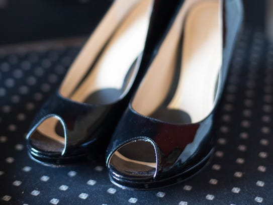 These black Cole Haans pumps are one of April's favorites