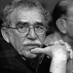 Colombian Nobel laureate Gabriel Garcia Marquez, left, is seen in Monterrey, Mexico. Behind is Colombian journalist Jose Salgar. Garcia Marquez died on Thursday, April 17, 2014 at his home in Mexico City. The author's magical realist novels and short stories exposed tens of millions of readers to Latin America's passion, superstition, violence and inequality. The FNPI was founded by Garcia Marquez.