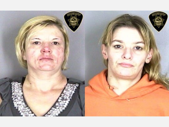 Shannon Jennings (left) and Debbie Cassidy, (right)