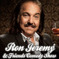 Ron Jeremy, the 'Elvis Presley of porn,' is bringing his comedy act to Lansing