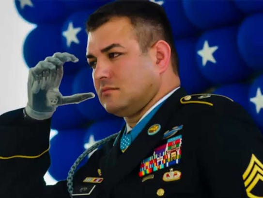 Master Staff Sergeant R. Leroy Petry