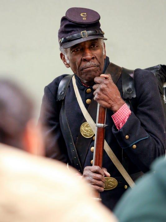 WIL Civil War Reenactor