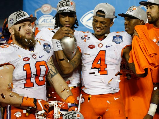 NCAA Football: ACC Championship-Clemson vs Virginia Tech