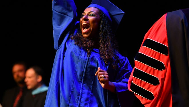Eastern Florida State College held two commencement ceremonies Thursday for their Fall graduates.