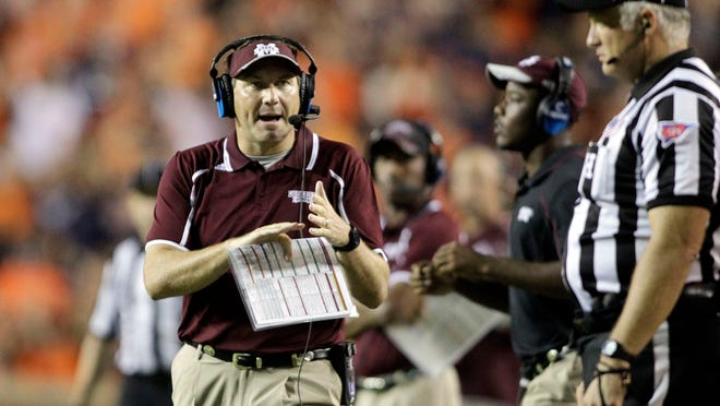 """Dan Mullen and Mississippi State have a small window during the 2016 season to fit a """"Big 5"""" opponent."""
