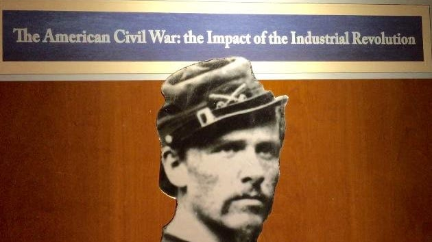 New exhibit at Rochester Museum & Science Center explores role of technology in the American Civil War (1861-1865) and role of Rochester residents and businessmen.