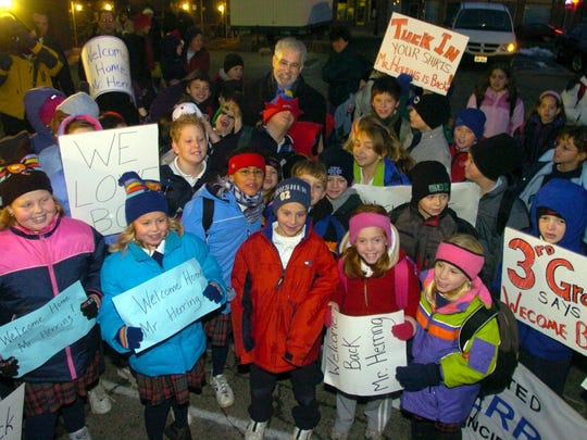 Nativity School parents and students hosted several large protests after principal Bob Herring was fired in 2003.