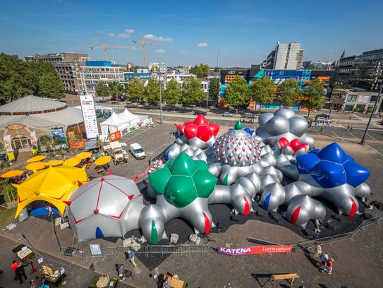 This is luminarium from Architects of Air is coming