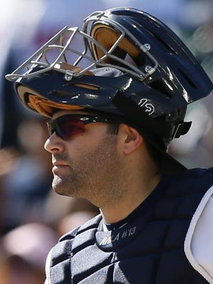 Alex Avila has been a starter for most of his career. Avila, 28, is eligible for free agency after this season — his worst as a Tiger.
