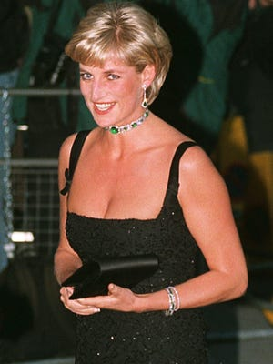 Princess Diana in London, about two months before her 1997 death in a Paris car crash.