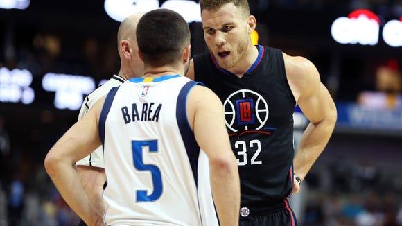 USP NBA: LOS ANGELES CLIPPERS AT DALLAS MAVERICKS S BKN USA TX
