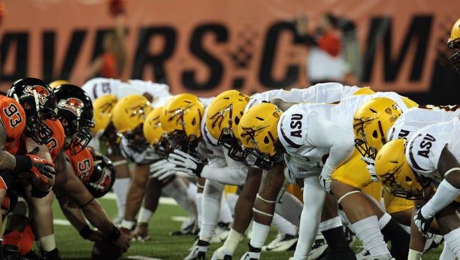 Who will win the ASU vs. Oregon State game?