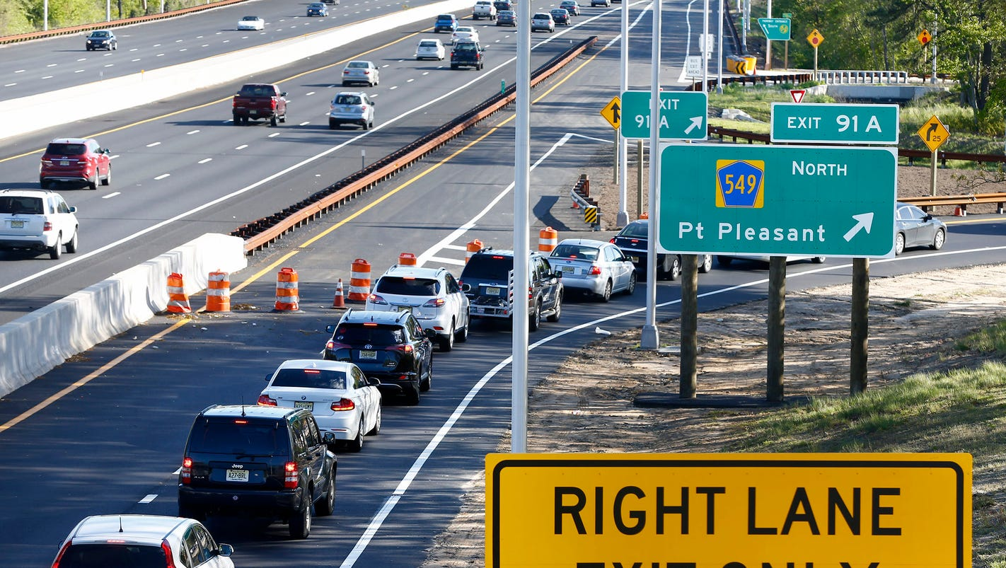 Finally New Exit 91 In Brick Is Opening