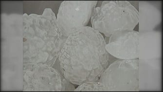 APRIL 10, 2001: The costliest hail storm in U.S. history hit the St. Louis area, causing $2 billion in damage. Baseball-sized hail was reported along the I-70 corridor from eastern Kansas, through Missouri, and into southwestern Illinois. The NWS reported nearly every home and business in north St. Louis County sustained damage, including 24 commercial and military aircraft at Lambert-St. Louis International Airport.