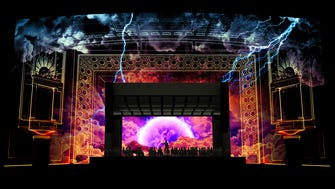 A rendering of Lumenocity at the Taft Theatre, Downtown.