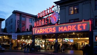 """Pike Place Market — Seattle (Cost to fly: $266): Seattle can be one of the most expensive U.S. tourist destinations, but Travel + Leisure makes a case for Pike Place by arguing it defines Seattle tourism.  One of the oldest continuously operating farmers markets in the country, the multilevel space is a sensory overload of smells, tastes and sights with over 500 shops, restaurants and vendors. Famous for flying fish, the """"almost"""" first Starbucks and a plethora of fresh eats, the iconic market is simply a must for foodies.  Entrance to the market is free, and group tours start at $15 and up depending on the level of the tour."""