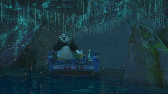 Po travels into the spirit world.