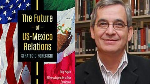 "Tarleton State University professor Jesus Velasco co-edited a recently released book, ""The Future of U.S.-Mexico Relations: Strategic Foresight."""
