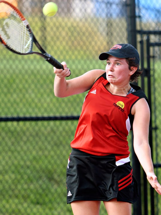 Spring Grove vs Dover girls' tennis