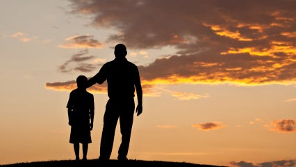 The author recalls how the father-son bond helped fuel his love of athletics as a child.