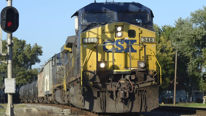 East Nashville is divided over whether to keep or stop the train horns.