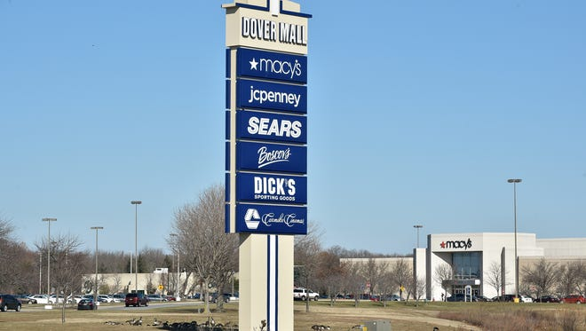 Dover Mall on US 13 in Dover, Del.
