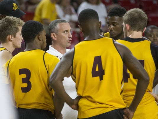 Maroon and Gold Madness Basketball scrimmages