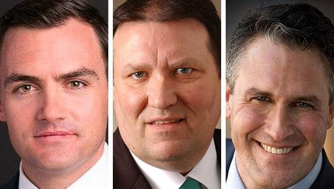 Mike Gallagher, a former foreign policy aide to Gov. Scott Walker's presidential campaign; Forestville Village President Terry McNulty and Wisconsin Senator Frank Lasee will face each other in the Aug. 9 2016 primary election. Incumbent Republican Reid Ribble, of Sherwood, is not seeking reelection for Wisconsin's 8th congressional district.
