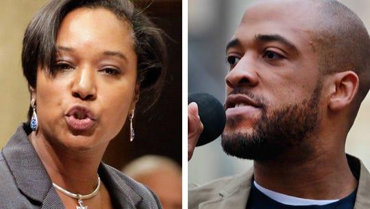 Sen. Lena Taylor (left) faces an election challenge