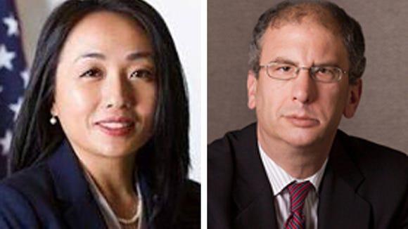 Kashoua Kristy Yang (left) and Scott Wales (right)