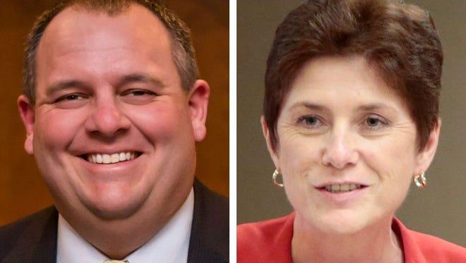 Rep. David Craig and Rep. Mary Felzkowski