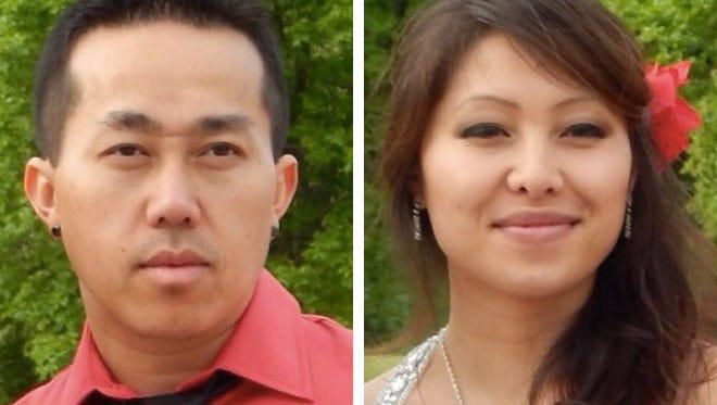 Phia Vue (left)  and Mai K. Vue (right)